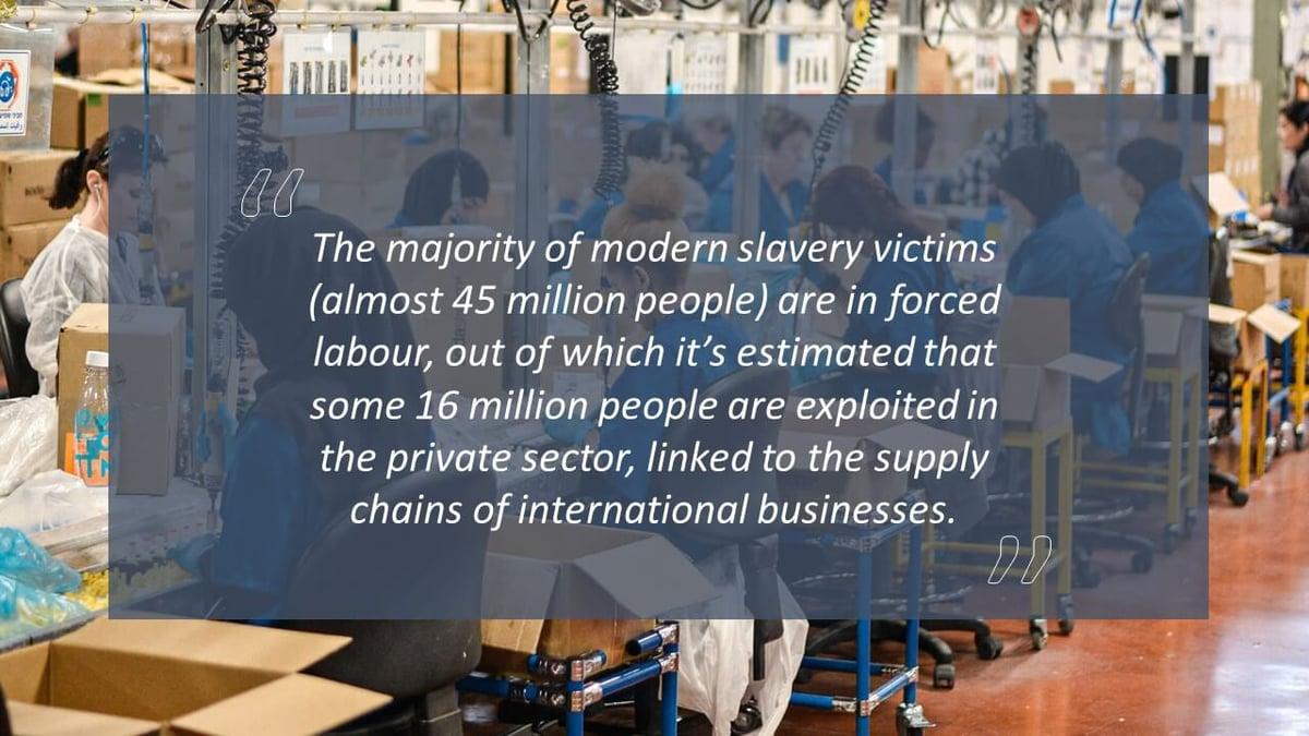 The modern slavery